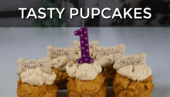 how to make peanut butter pupcakes