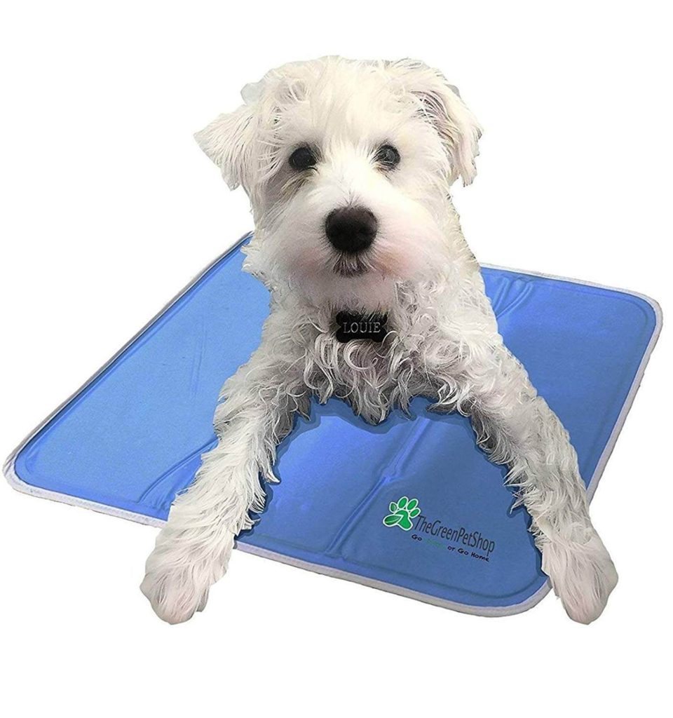 Green Pet Shop Cooling Mat
