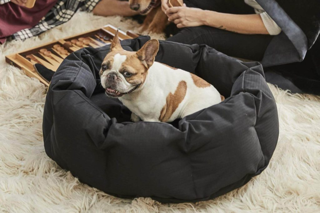 K9 ballistics round dog bed deep den small 2
