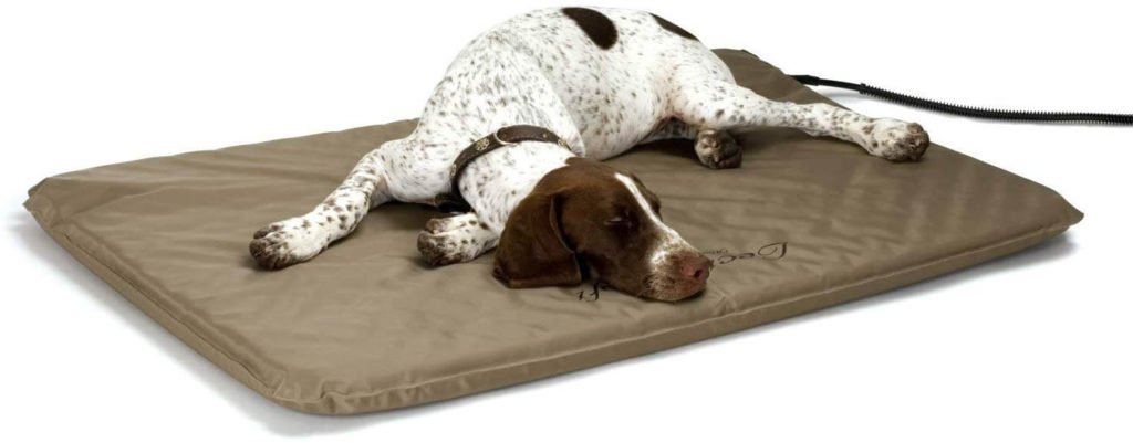 KH Lectro Soft Outdoor Heated Bed Dog