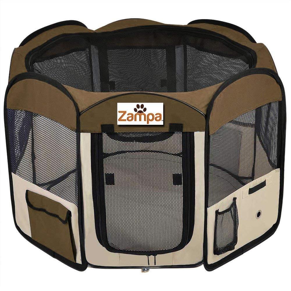 Zampa Portable Foldable Pet Playpen