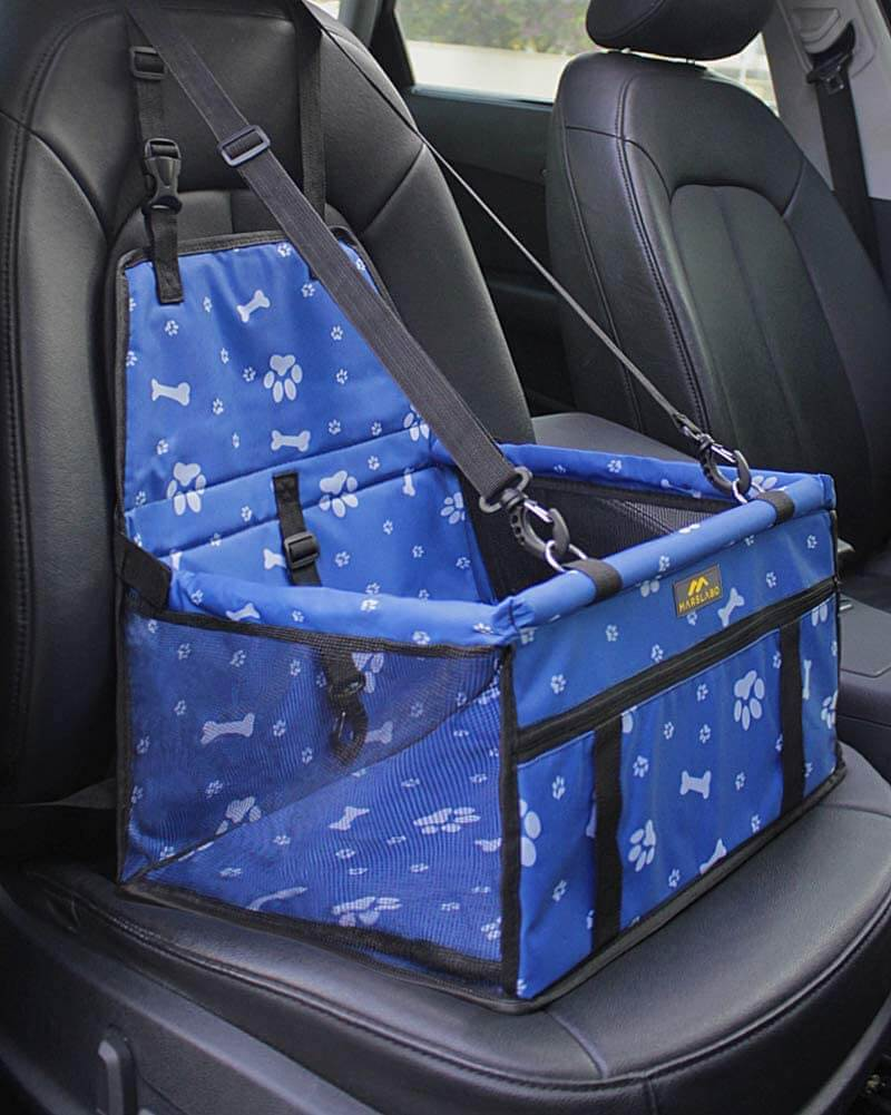 MARSLABO Dog Car Seat Blue