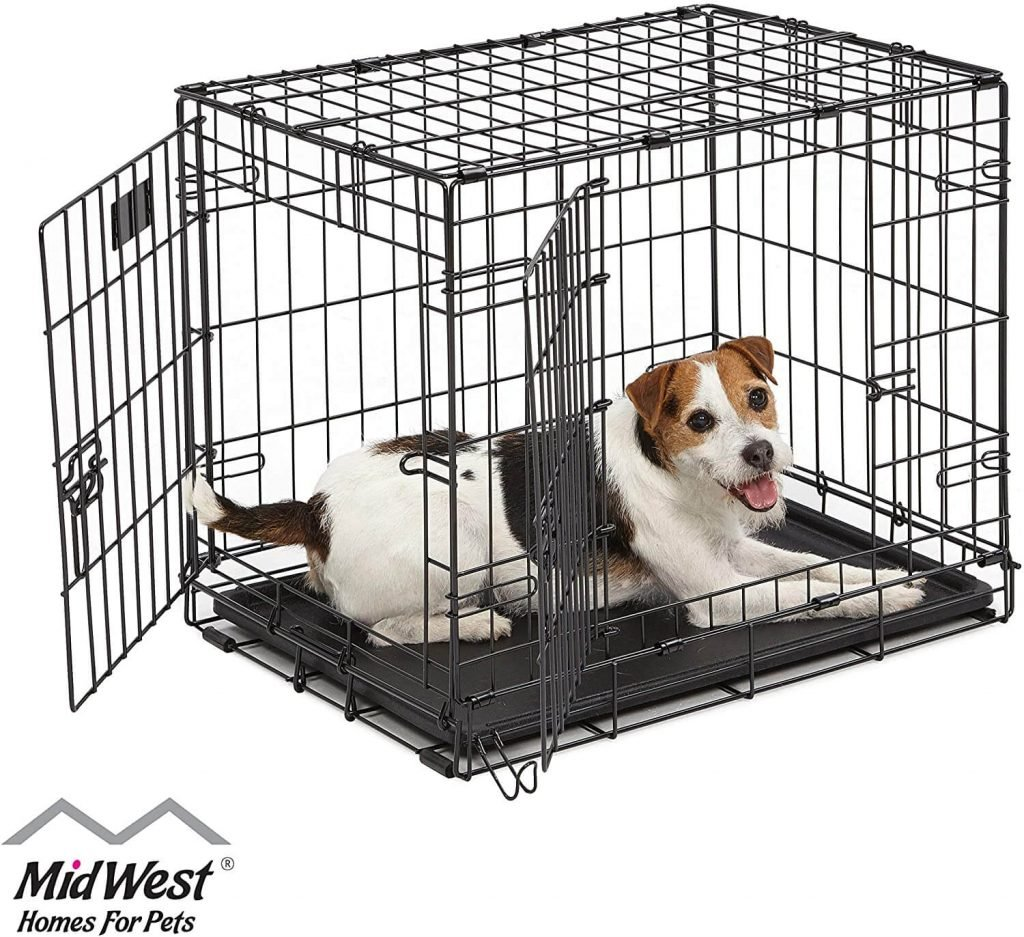 MidWestHomes for Pets 24 inch double door with divider