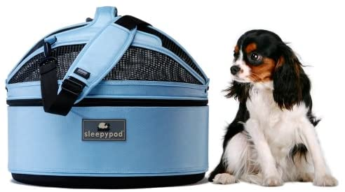 Sleepypod Mobile Pet Bed Blue
