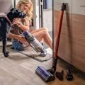 Dog and Small Vacuum Cleaner