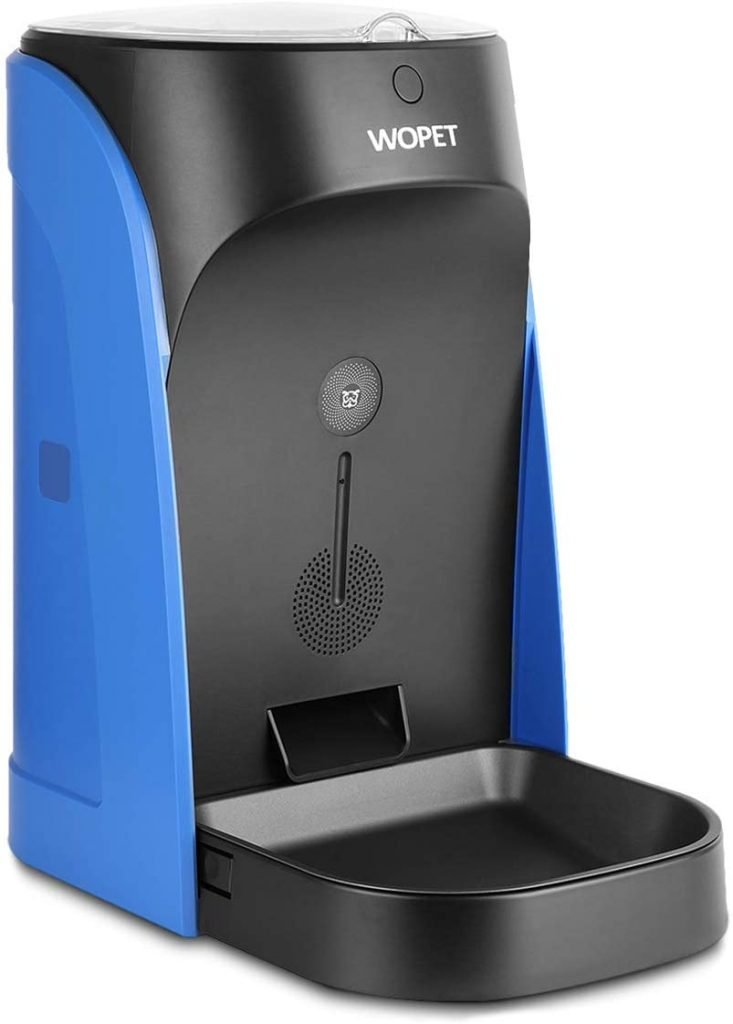 WOPET Automatic Pet Feeder Blue
