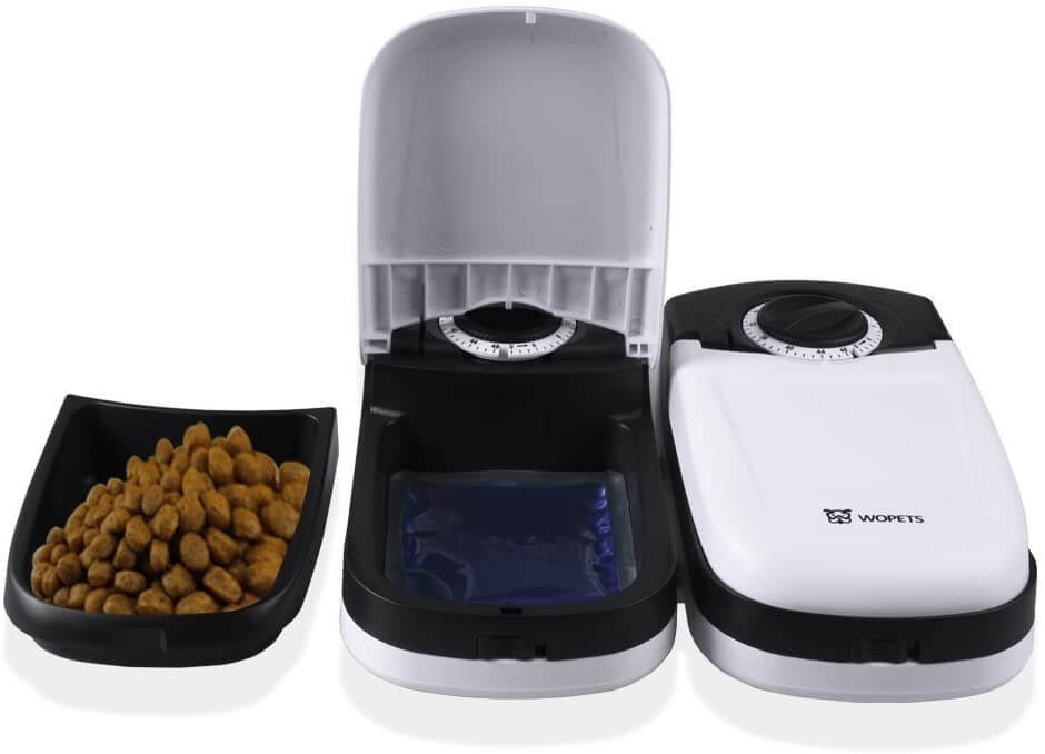 WOPET Automatics Pet Feeder with Ice Pack