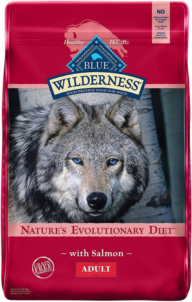 Blue Buffalo Wilderness High Protein Grain Free Salmon
