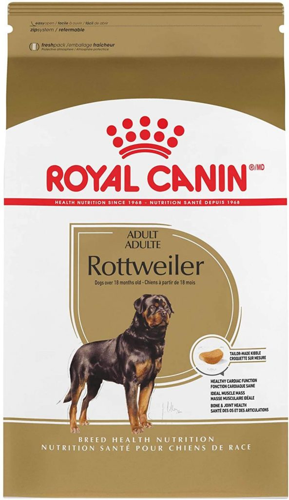 Royal Canin Breed Health Nutrition Rottweiler Adult